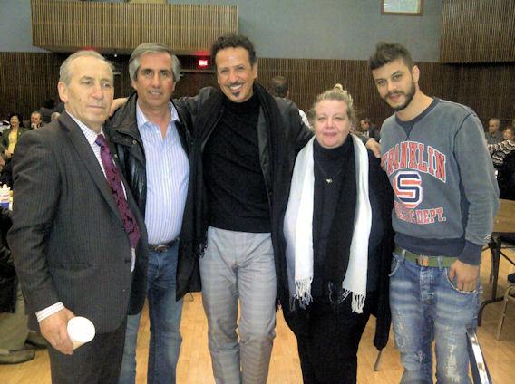 Ο επιχειρηματίας Θανάσης Αργυρίου, ο promoter Κώστας Ζορμπάς, ο ηθοποιός Χάρης Ρωμας, η δημοσιογράφος Μάνια Σαμπά, και ο ηθοποιός Λεωνίδας Καλφαγιάννης έδωσαν το δικό τους παρών στην εκδήλωση. Photo: ©2013, Paris Petrou/Me  Greek