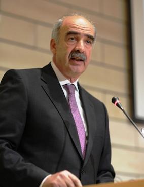 Ο Πρόεδρος της Βουλής των Ελλήνων κ. Ευάγγελος Μεϊμαράκης.