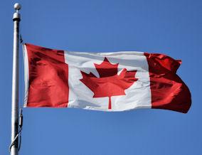 Η σημαία του Καναδά.
