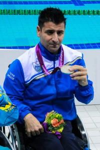 Με 5 παραολυμπιακά μετάλλια έχει διακριθεί ο Χρήστος Ταμπαξής.