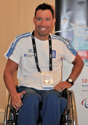 Ο Γιάννης Κωστάκης κατέκτησε τα 3 από τα 8 μετάλλια της Ελληνικής Αποστολής. Photo: ©2013-Paris Petrou/Me Greek.