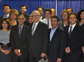 Στιγμιότυπο από την ημερίδα που πραγματοποιήθηκε στην Οττάβα. Photo: Courtesy of the Embassy of Greece in Canada.