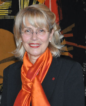 Η υποψήφια δημοτική σύμβουλος της Côte-des-Neiges, Helen Fotopoulos. Photo: ©2013. Paris Petrou/Me Greek.