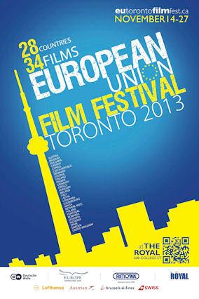 Η αφίσα του Ευρωπαϊκού Φεστιβάλ Κινηματογράφου.