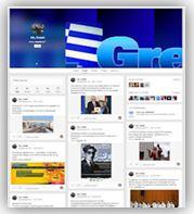 Η σελίδα του Me Greek στο Google Plus.
