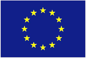 Η σημαία της Ευρωπαϊκής Ένωσης.