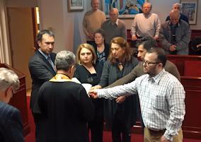 Νέα μέλη στο Διοικητικό Συμβούλιο της ΕΚΜΜ. Photo: © Paris Petrou / Me Greek.